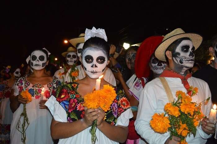Mexican festival Day of the Dead