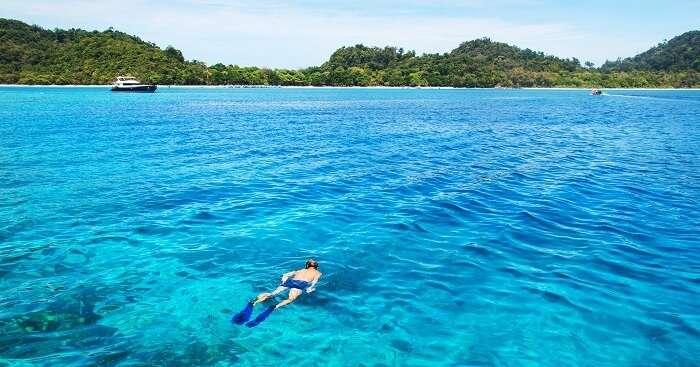 Snorkeling in Koh Lanta
