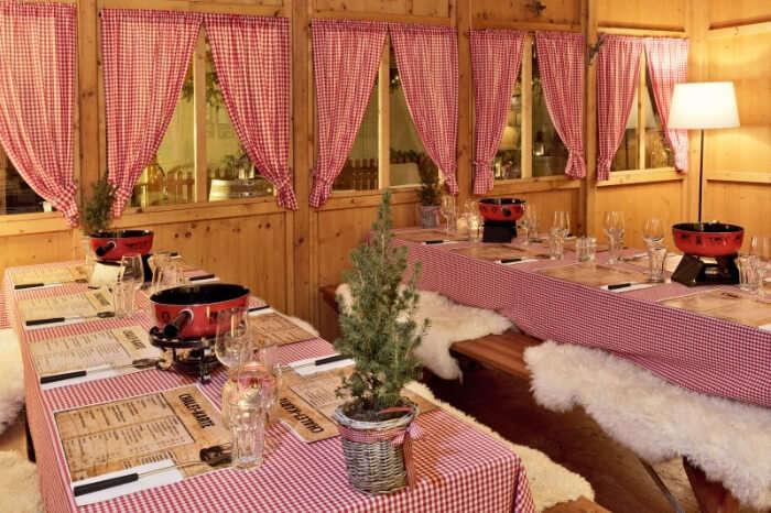 iconic huts of Switzerland