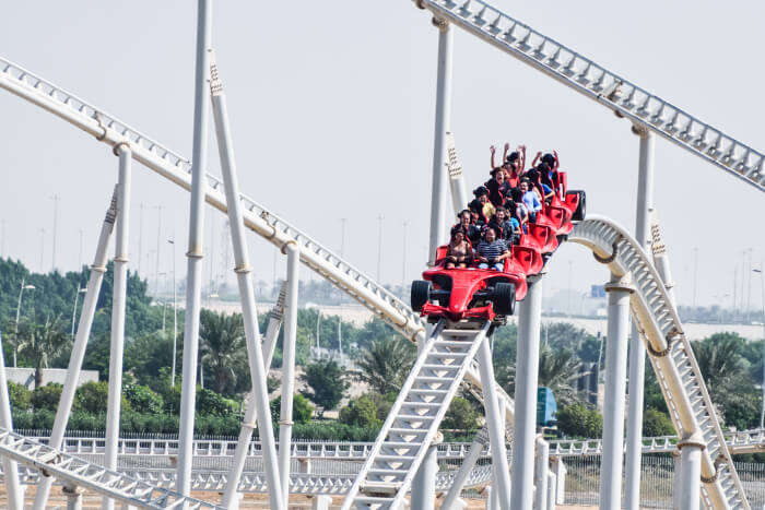 Formula Rossa at FerrariWorld