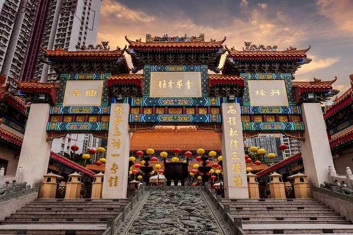 Hong Kong Wong Tai Sin