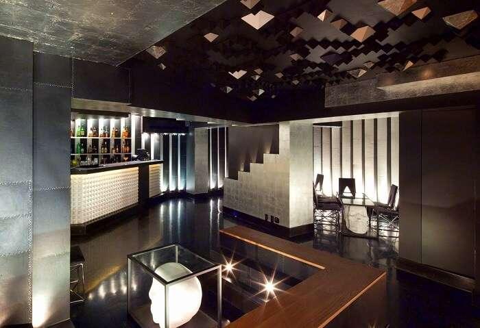 underground bar in popular area of mexico
