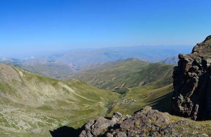 Blue Nature Kaçkars Mountains Landscape