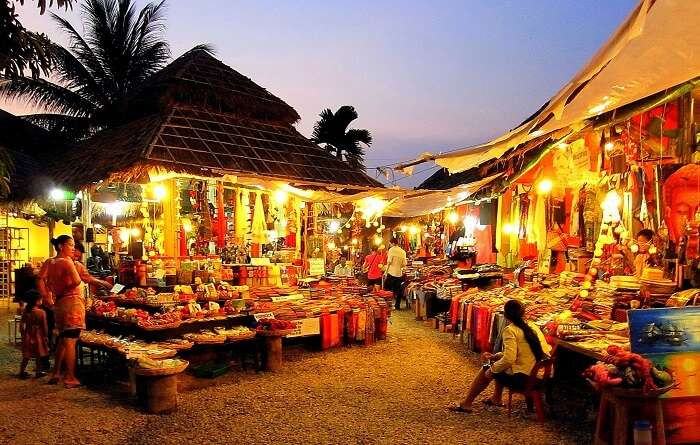 street markets and buy some unique trinkets