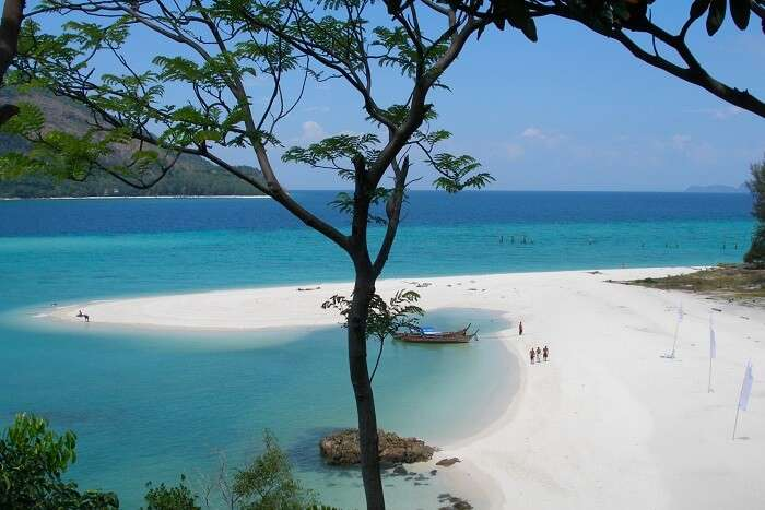 Koh Phai with white sand blue water