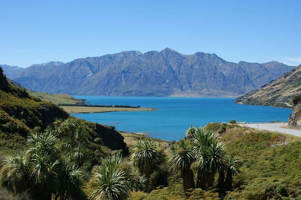 blue Lake Hawea