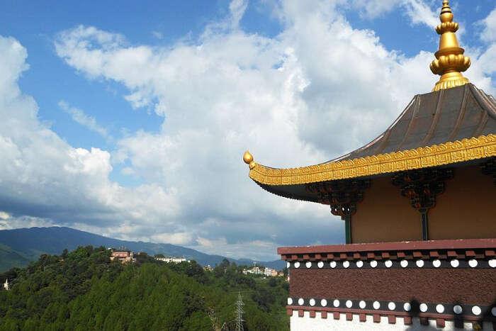 A monastery near Langtang, Nepal