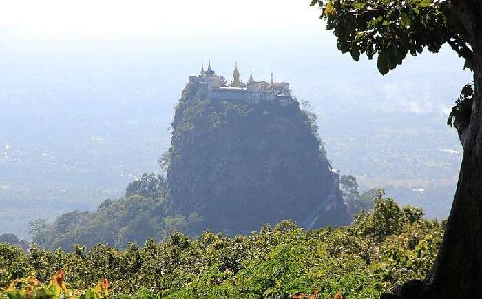 Mt. Popa Peak
