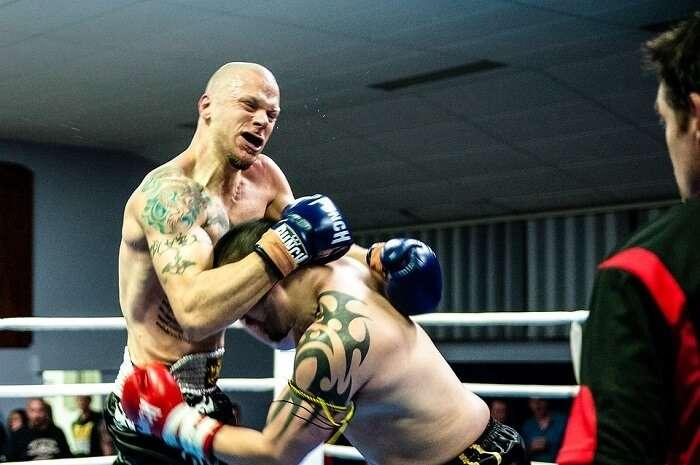 kick boxing match