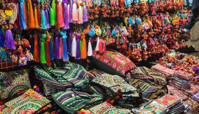 Night Bazaar in thailand