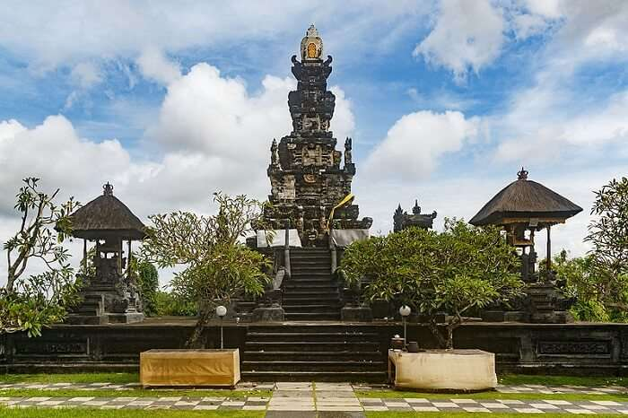 one of the biggest temples in the city