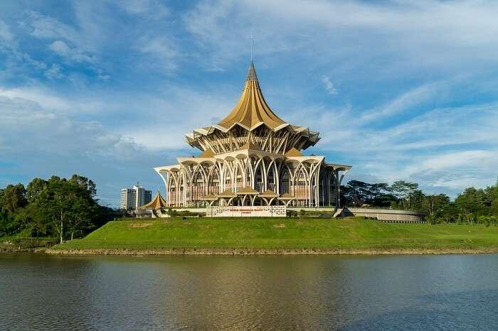 Sarawak Kuching Esplanade