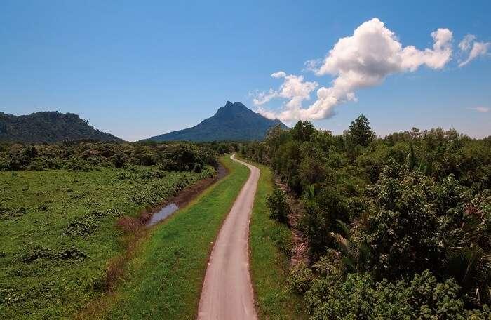Sarawak Mount Santubong