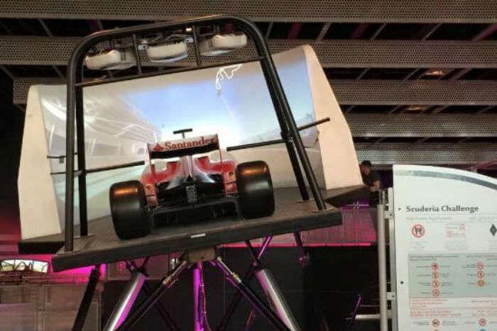 Scuderia Challenge at Ferrari World