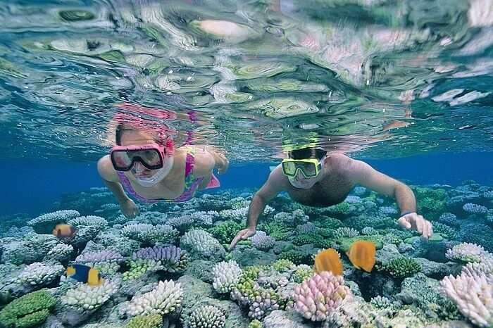 Snorkeling in Kirinda