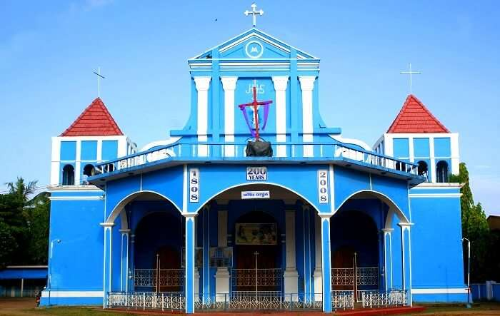 beautiful small Catholic Cathedral