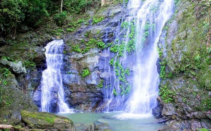 spectacular waterfalls