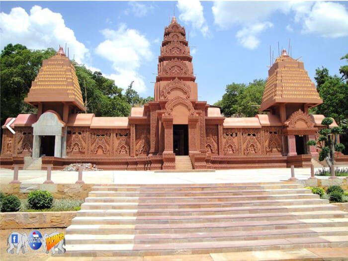 religious temple of Kanchanaburi