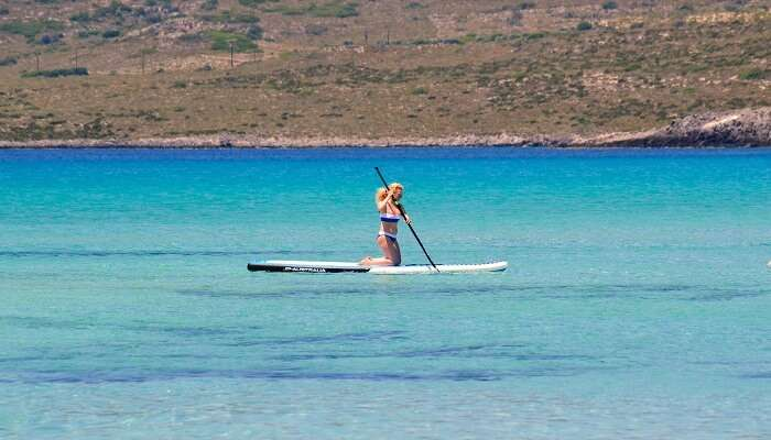 Stand up Paddle Boat