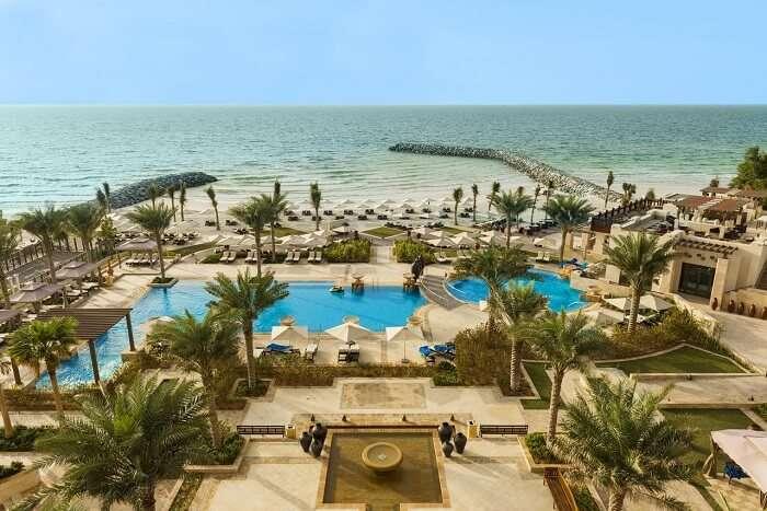 Beach side resort