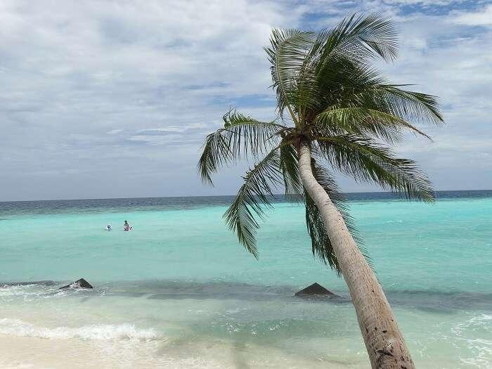 Maafushi island view