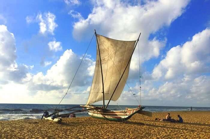 day at negombo beach park