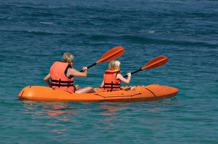 perhentian island sea kayaking