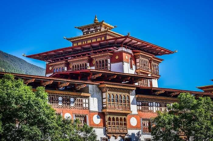 a unique style of Bhutanese architecture