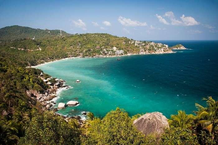 popular spot on the island