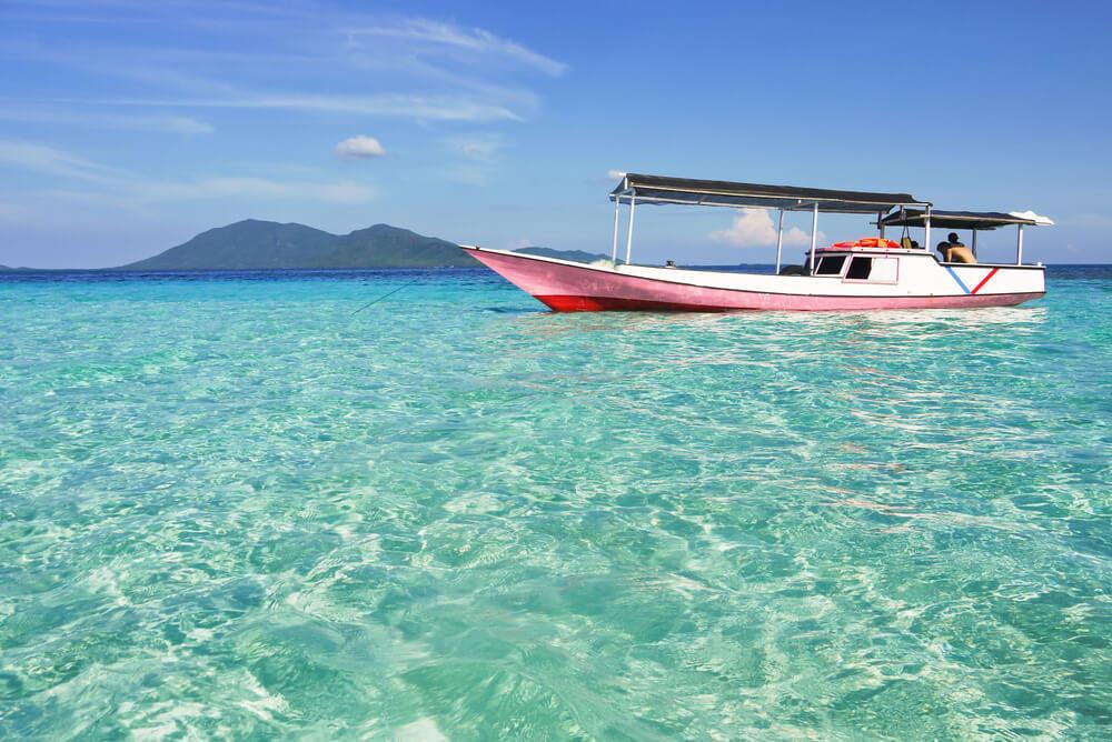 clear blue sky-Karimun Island