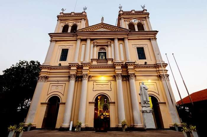 Church in Negombo