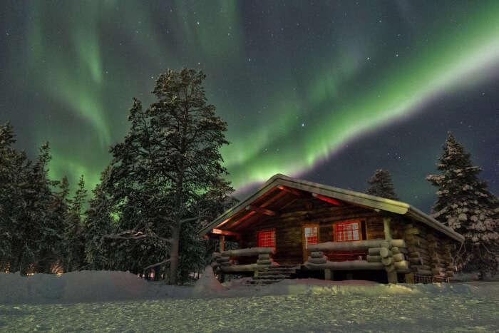 Aamunkoi Cabin in Lapland