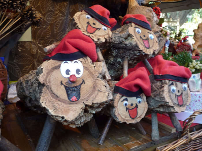 Amuse yourself with the Tio de Nadal