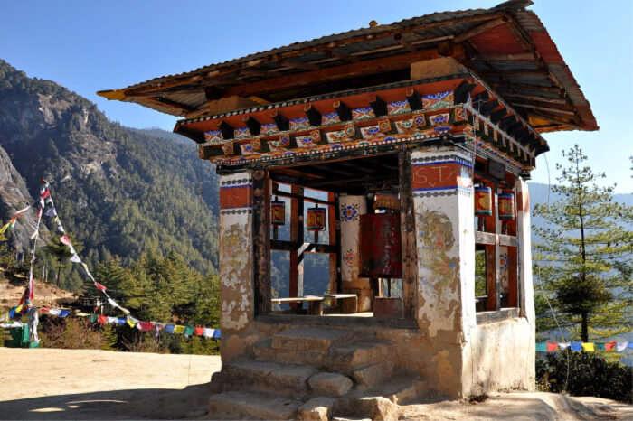 Arrival At Bhutan
