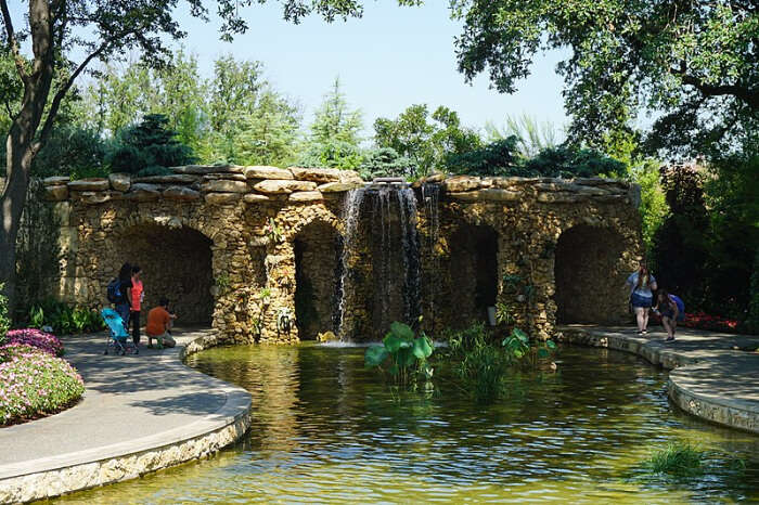 Attend 12 days of Christmas at Dallas Arboretum