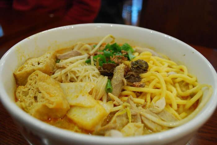 ishcake noodle soup