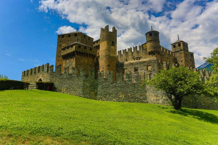 Castle of Fenis