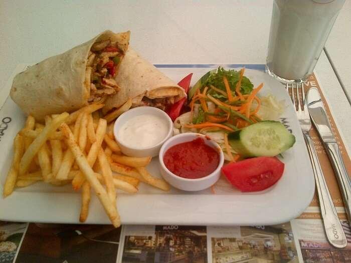 Turkish Kathi roll