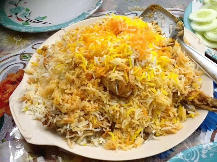 its rich collection of Indian cuisine