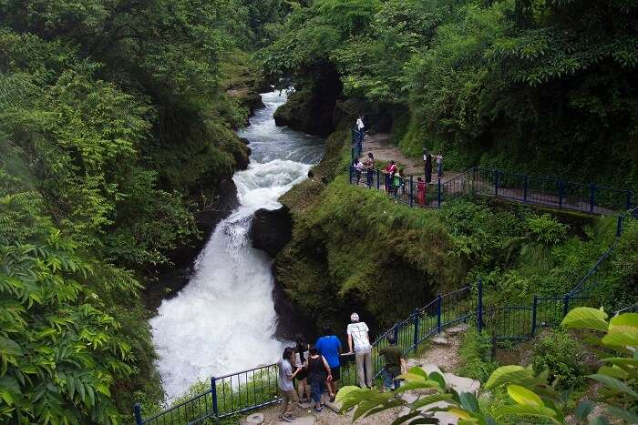 famous waterfalls in Nepal