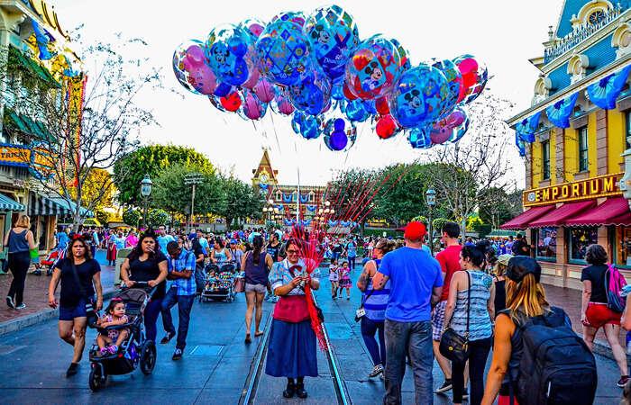 Disneyland of California