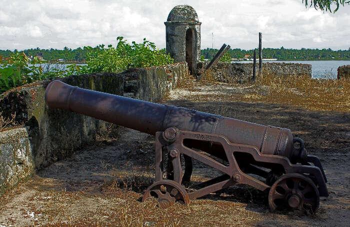 Old Dutch Fort in Batticaloa district