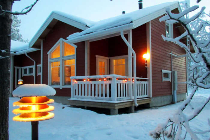 Fairy Tale Cottages in Levi and Koli