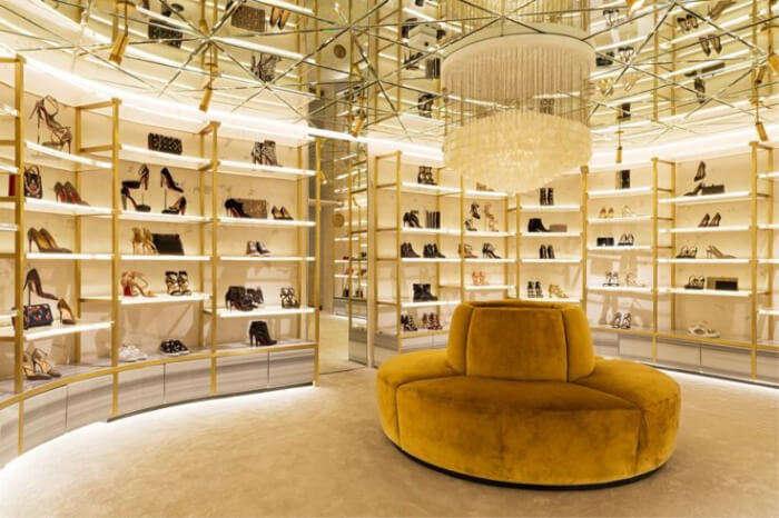 luxury shopping in Lisbon.