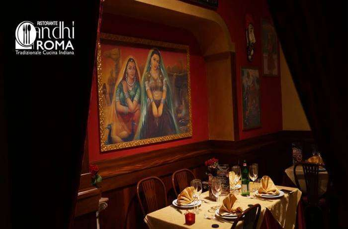 Gandhi Restaurant Rome, indian cuisine in rome, delicacies