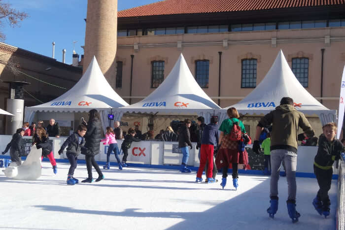 Go ice skating at the Ice Rink