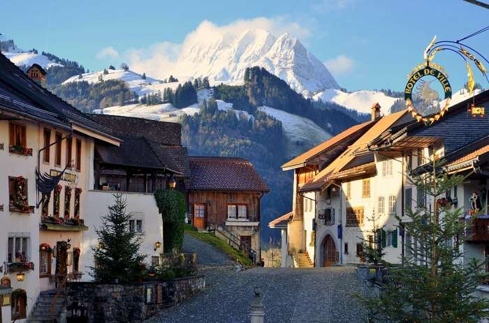 take a trip to Gruyères in Switzerland