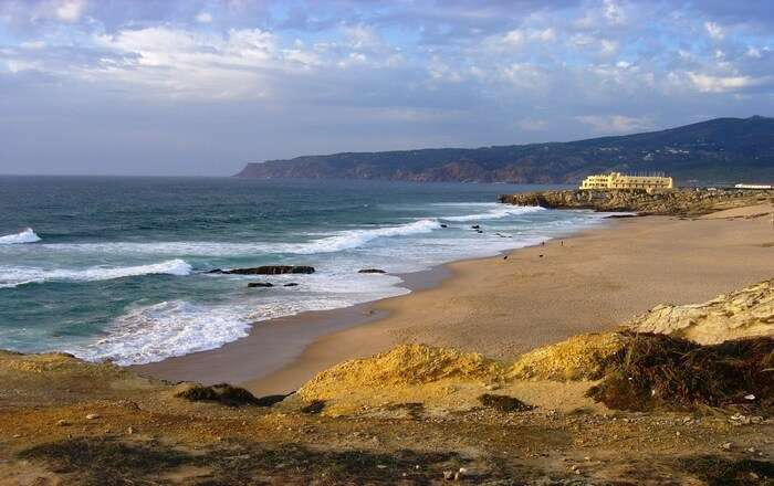 Guincho beach in Lisbon
