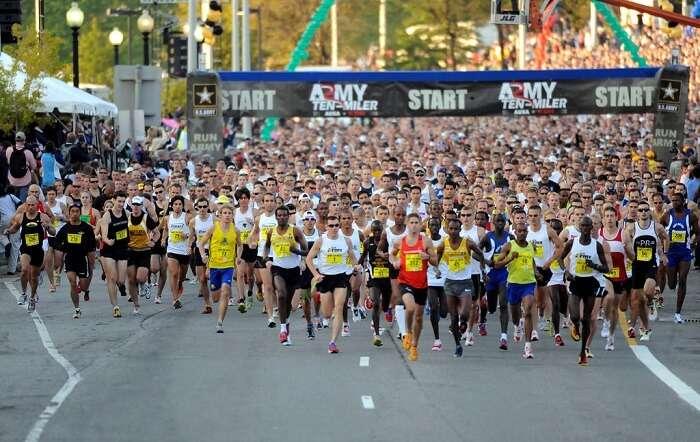 Half Marathon In Athens