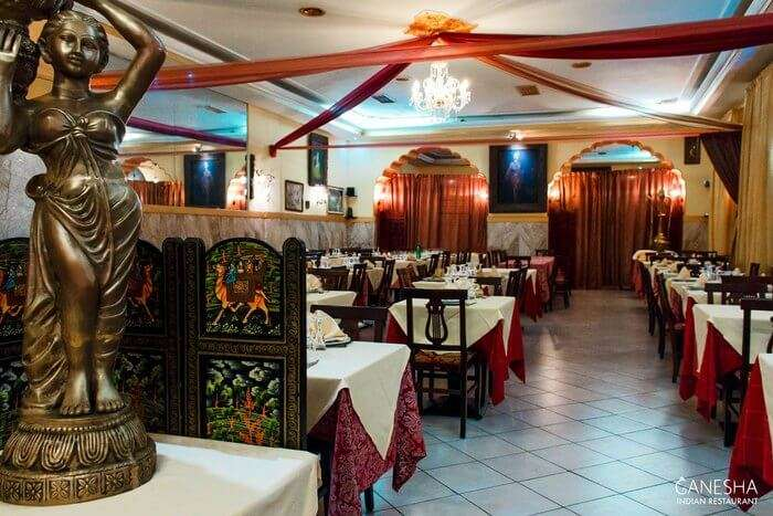 Indian Restaurant Ganesha, restaurants in rome, indian cuisine in rome,